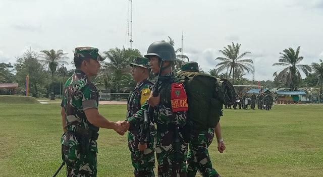 Lepas 400 Prajurit Jaga Di Perbatasan Timor Leste, Ini Pesan Pangdam I/BB
