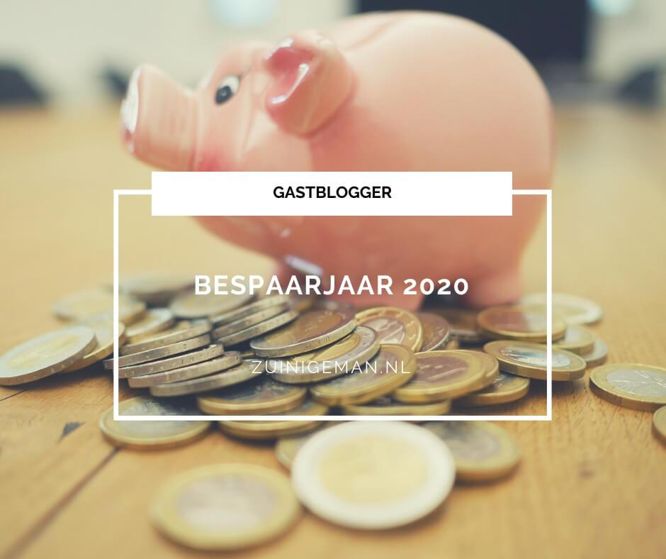 Bespaarjaar 2020 - besparen in 2020