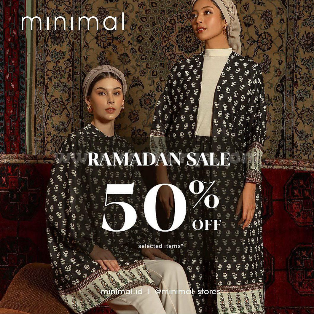 Promo MINIMAL Ramadan Special SALE 50% OFF festive collection