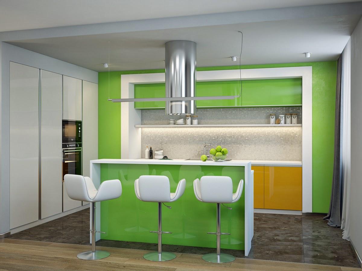 Idee soggiorno sala da pranzo e la cucina - Sala e cucina ...