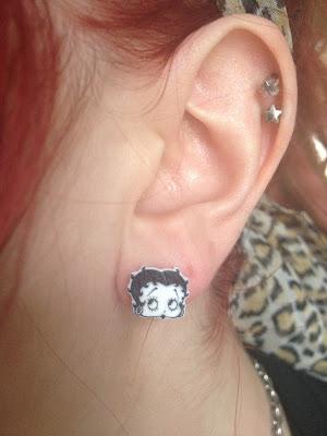 Betty boop earrings