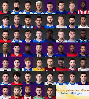 PES 2021 - 2020 Mega Facepack 50+ Players