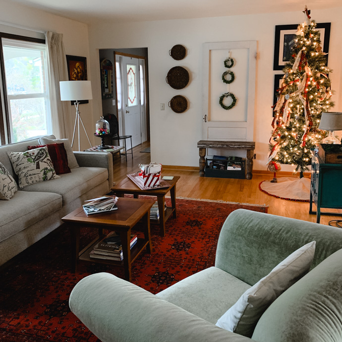 Rustic Holiday Home Tour