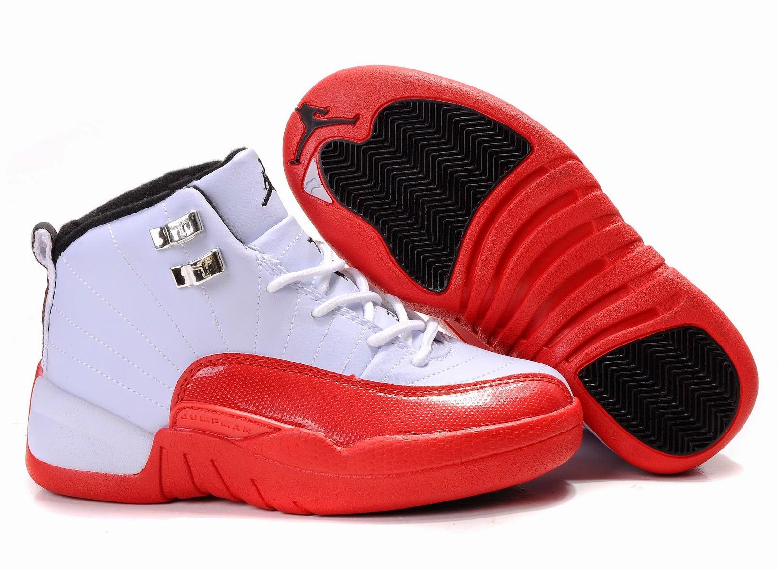 Boy Jordan Shoes White