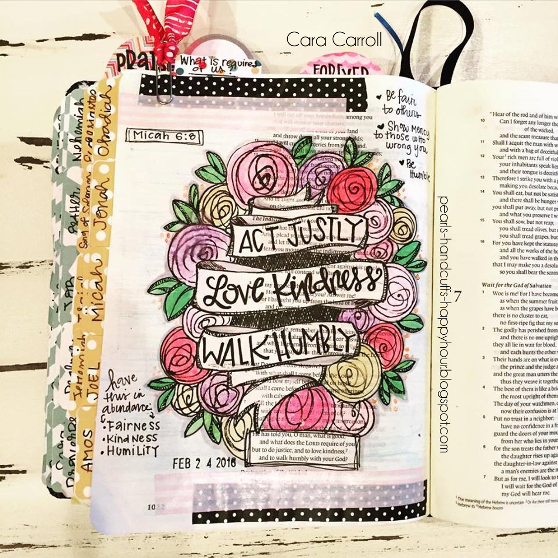 Pearls handcuffs and happy hour bible journaling for beginners