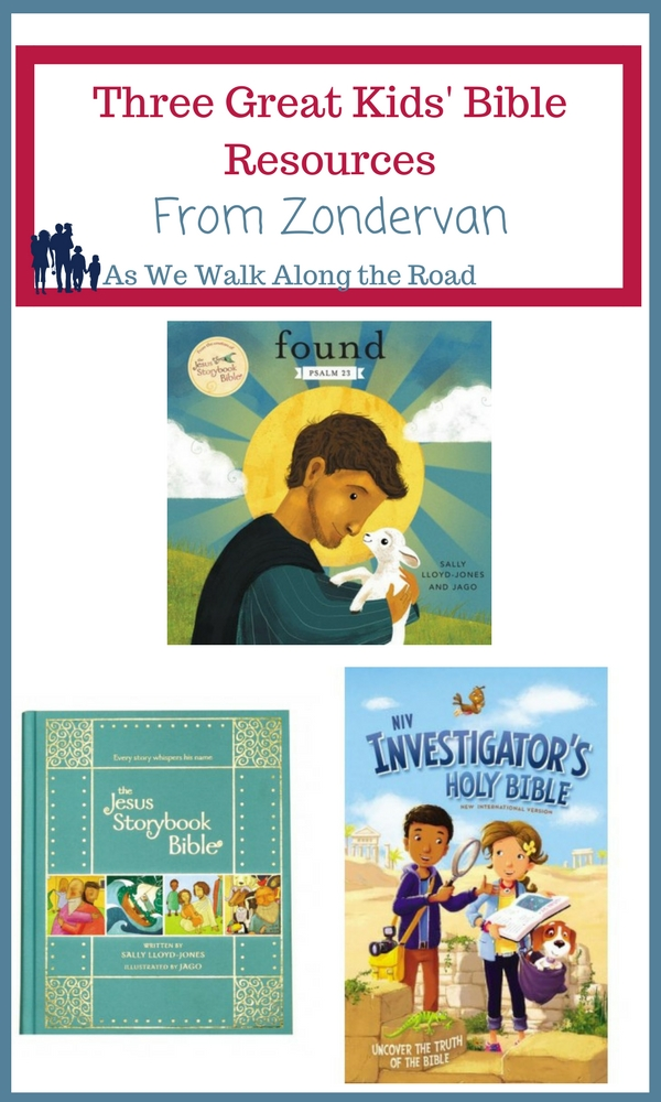 Review of kids' Bible resources from Zondervan
