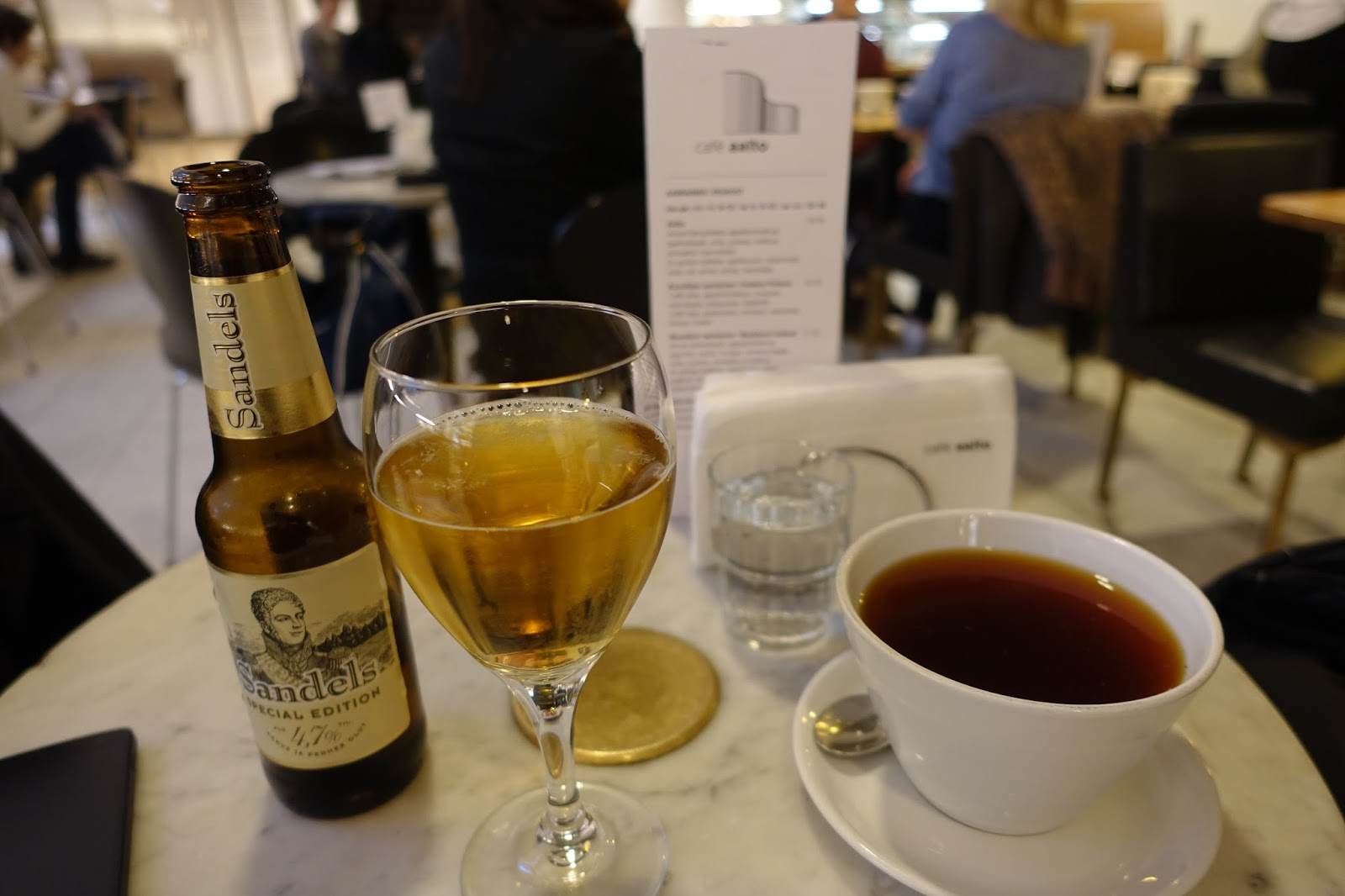 カフェ・アアルト(Cafe Aalto) サンデルスビール(Sandels)