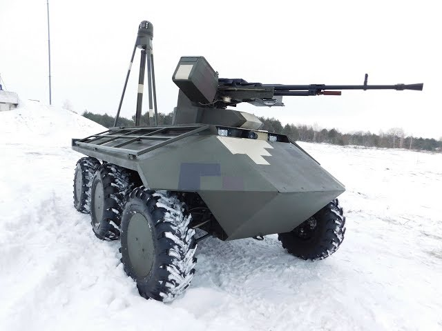 Ukraine Prepares Armed UGVs for a Future Robot War