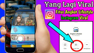 Filter Angkot di Instagram