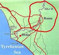 """Até o centurião romano desconfiou e viu que Paulo não era um prisioneiro comum, e que era  seguro permitir-lhe privilégios que outros prisioneiros não poderiam. Os romanos chamavam o mar Mediterrâneo de (""""Mare Nostrum"""" - Nosso Mar). Seu controle e disponibilidade destas rotas marítimas eram de fundamental importância para Roma não apenas por razões militares, mas para o comercio e o domínio cultural.  Muitas cidades do Império Romano, possuíam portos ou eram servidas bons portos.  A capital do Império, Roma tinha seu porto marítimo na cidade vizinha de Ostial."""