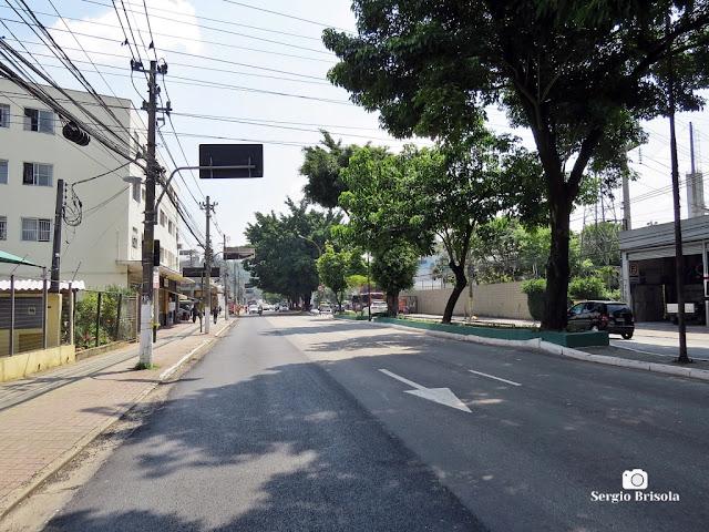Vista ampla de trecho da Avenida Vital Brasil - Butantã - São Paulo