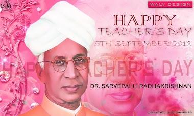 Happy Teachers Day 2018 Kolkata, Benar By Walvdesign Group - By Sanjib