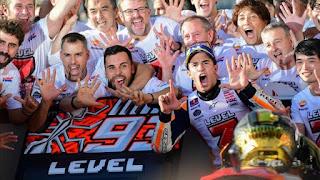 MOTO GP - Séptima corona para Marc Márquez en 9 temporadas, con solo 25 años