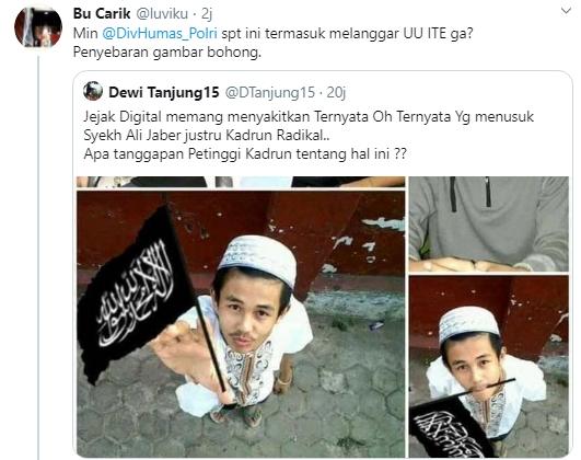 Hoax Dewi Tanjung