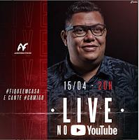 Notícias Gospel - Hoje tem Live de Anderson Freire no Youtube