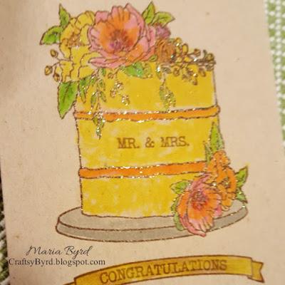 Concord & 9th - Wedding Card by Maria Byrd, 082018 | CraftsyByrd.blogspot.com | Happy Day Dies Stamp