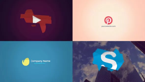 Videohive Animated Logo – Logo Reveal 13352240