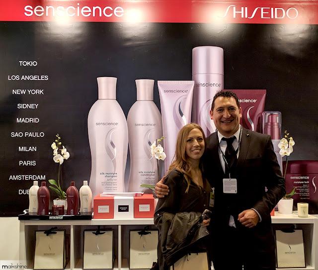 Senscience by Shiseido - Maikshine in Salon Look Madrid