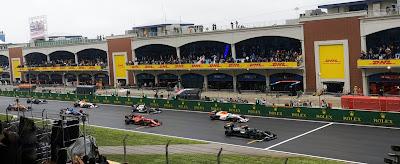 Formula 1 İstanbul  Valtteri Bottas'ın