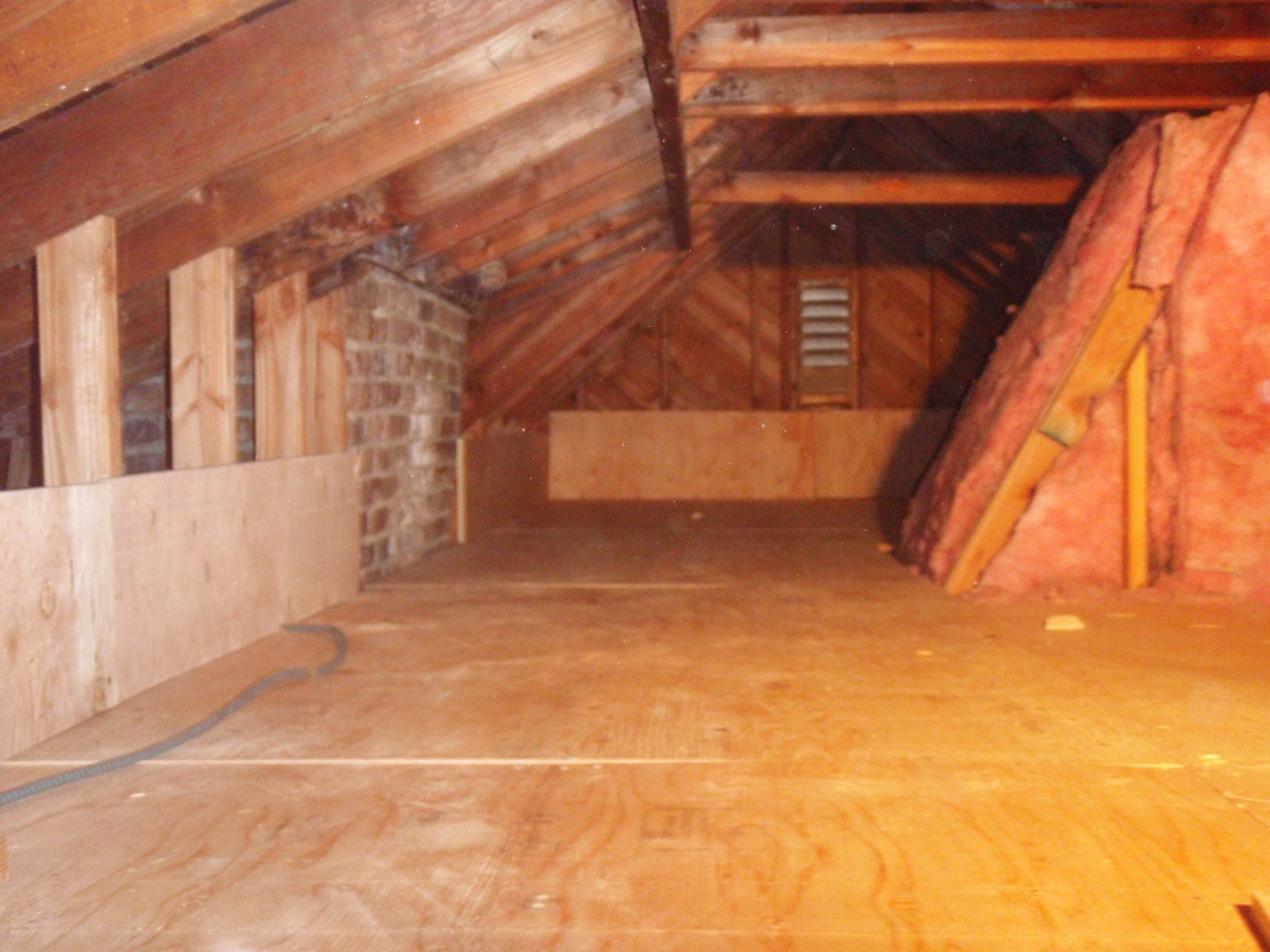 Home Pride Contracting Installing Plywood In An Attic