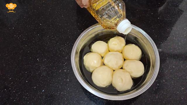 Roti Canai Home Made Recipe Resting