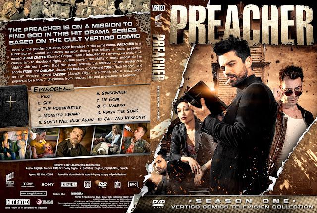 Capa DVD Preacher T01 Season One Primeira Temporada