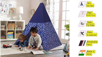 Second May Trey Kids Tent House Safe, Lovely and Comfortable Gift for Kids