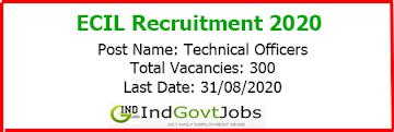 ECIL Recruitment 2020 indgovtjobs