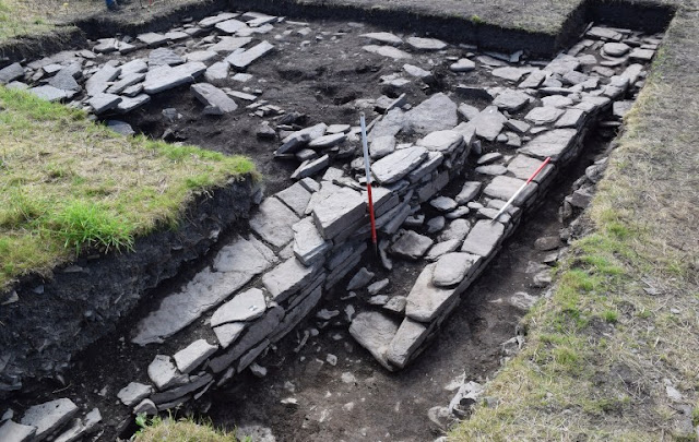 12th-century 'Viking drinking hall' found during Orkney dig