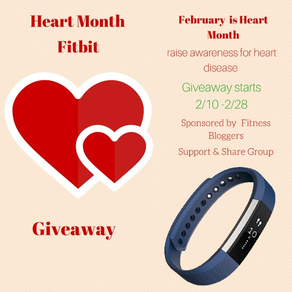 Win a FitBit Alta for Heart Month