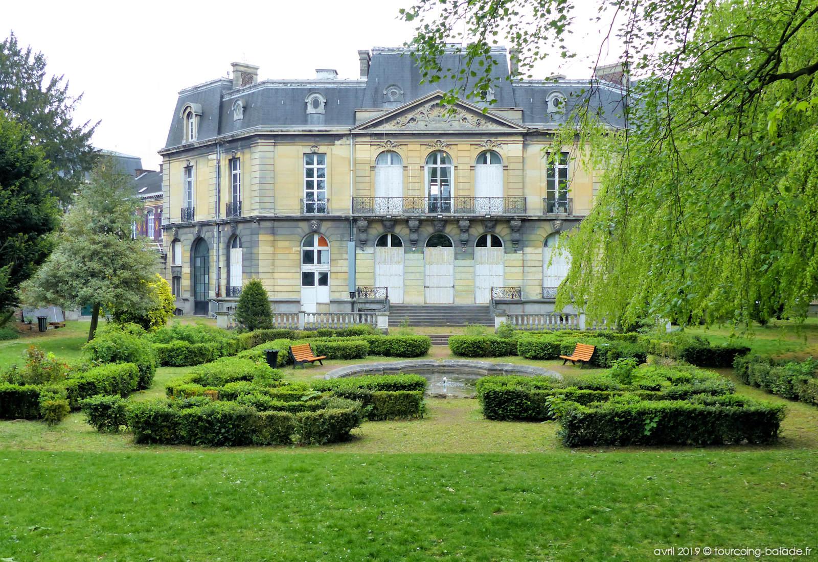 Jardin Gambetta Tourcoing, 2019.