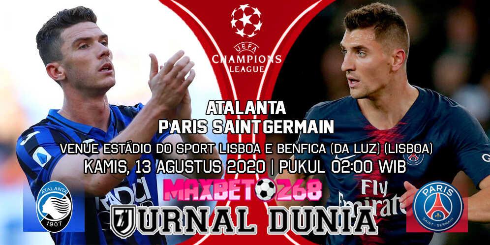 Prediksi Atalanta vs PSG 13 Agustus 2020 Pukul 02:00 WIB