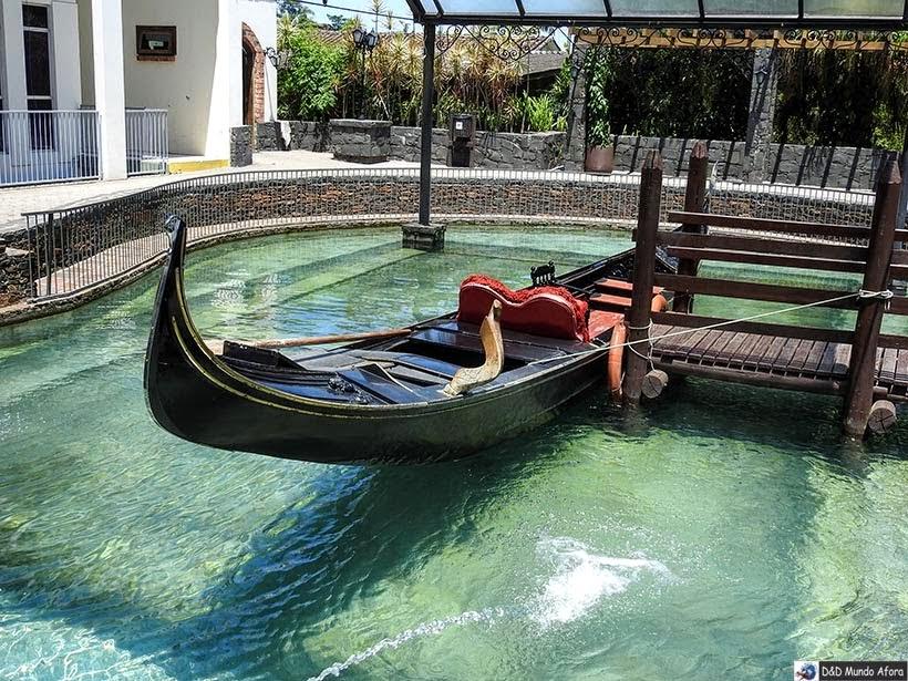 Gôndola de Nova Veneza - Diário de bordo - Encontro Rota Sul em Santa Catarina