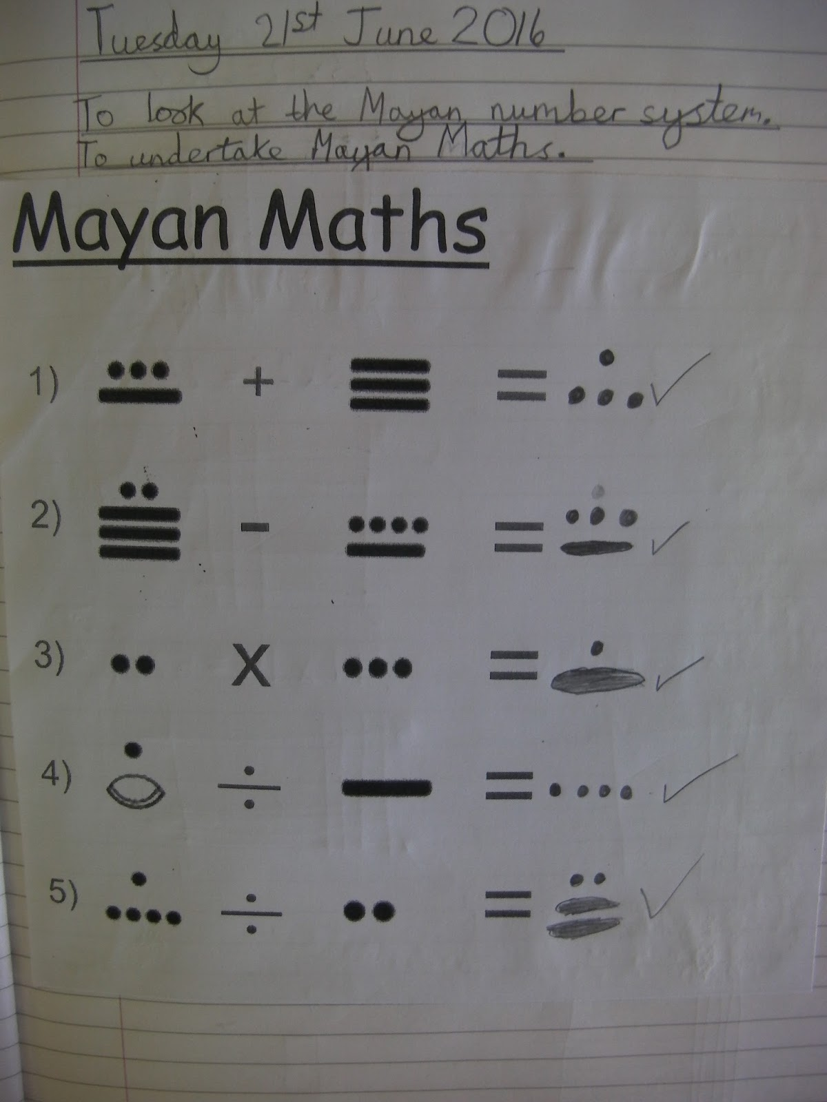 mathematics and mayans An ancient mayan copernicus: hieroglyphic texts reveal mayans made major discovery in math, astronomy.