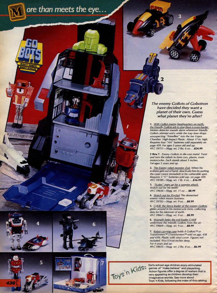 Un altro catalogo di giocattoli americani da epistassi