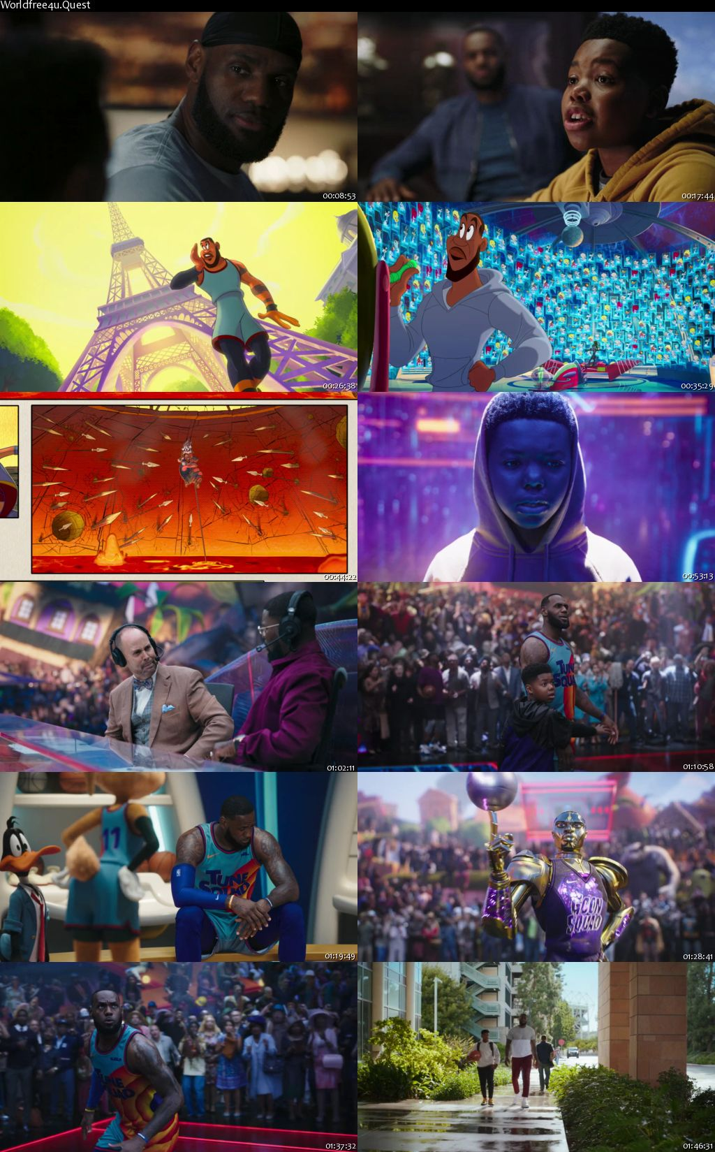 Space Jam A New Legacy 2021 English Movie Download || HDRip 720p