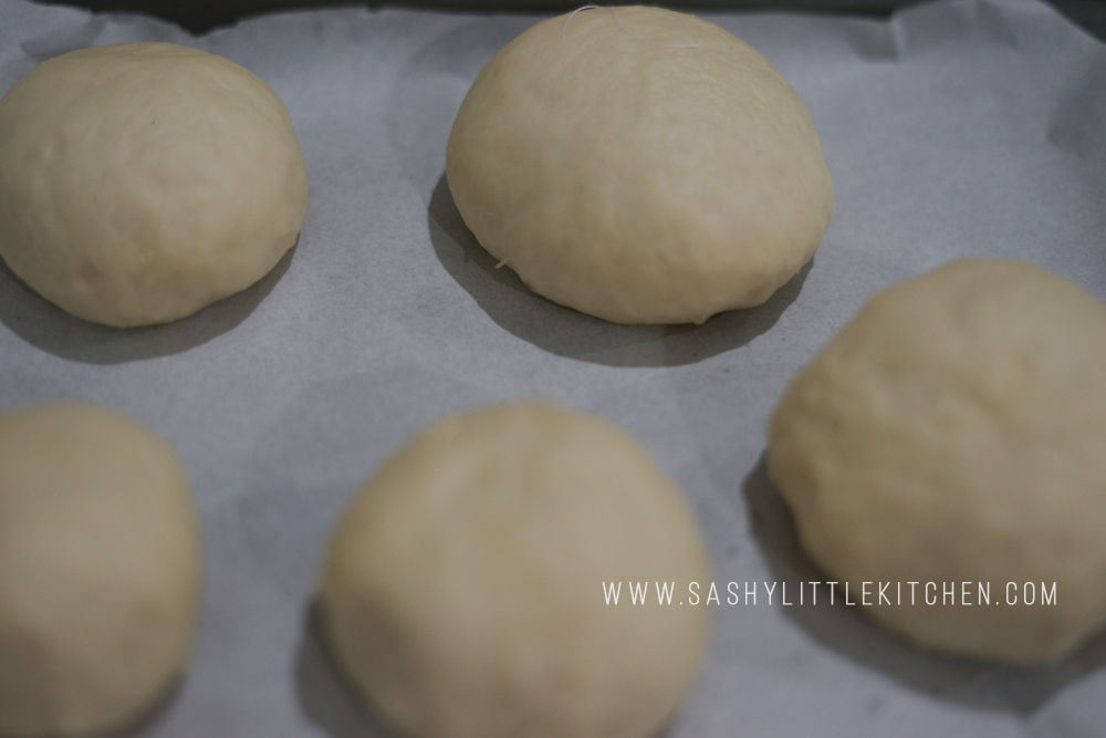step by step membuat korean cream cheese garlic bread