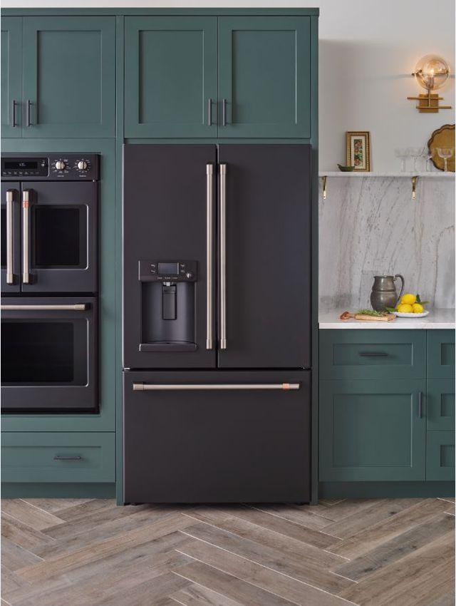2019 home decor design trend, matte finishes, matte black appliances