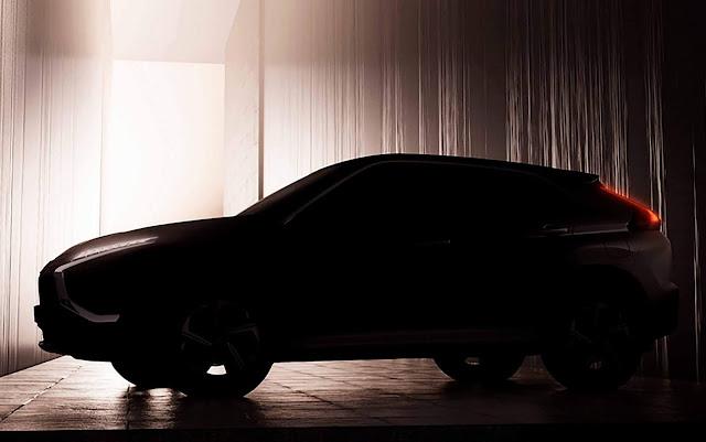 Novo Mitsubishi Eclipse Cross 2022: 1º foto divulgada