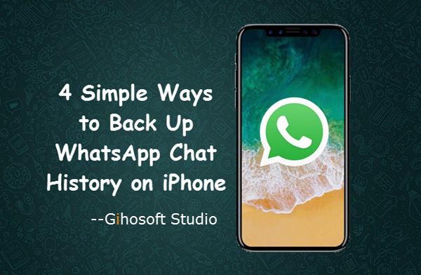 How To Dorsum Upwards Iphone Whatsapp Chat History