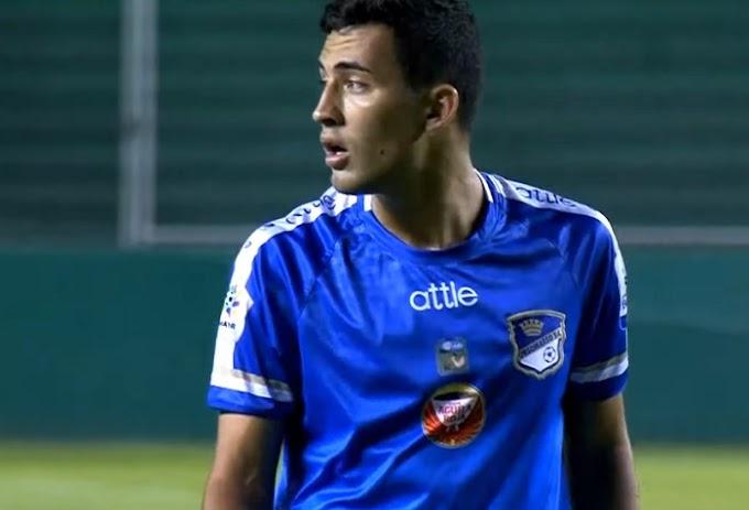 Debutó en las redes: El tolimense Carlos Hernández anotó su primer gol como profesional con Orsomarso