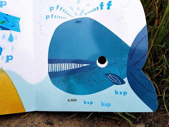 Czapu Czipu - zabawy z wyobraźnią - co tak świszczy - co tak kapie - Bogna Sroka Mucha - Egmont - Harper Collins - książeczki dla dzieci - książeczki logopedyczne - książeczki dźwiękonaśladowcze