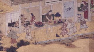 茶屋の店先