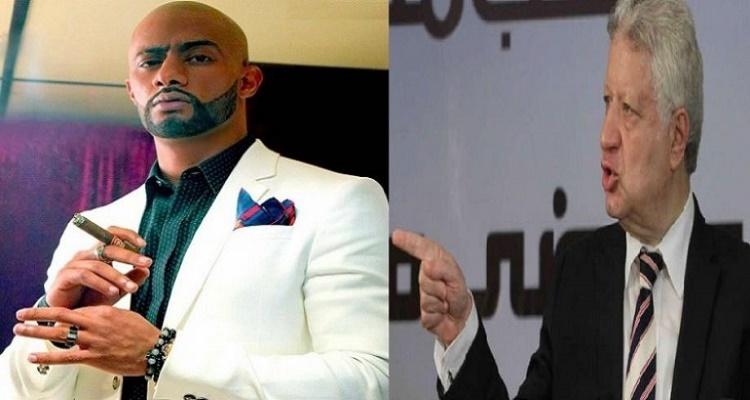 كلام لا يصدق من محمد رمضان لمرتضى منصور بعد إهانته في عزاء محمود عبد العزيز