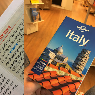 Veloce bike rental review lonely planet travel books Italy