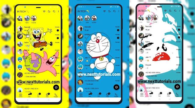 Kumpulan Tema Keren NS WhatsApp v8.92 Update Tampilan Terbaru 2021,download nswhatsapp 3d edition terbaik 2021.wa mod anti banned,nswa update