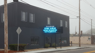 THE BLACK BOX on West Central St in Franklin