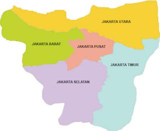 map jakarta