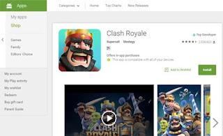 Cara Main Clash Royale di PC Tanpa Bluestacks