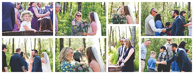 wedding at hidden hollow farm